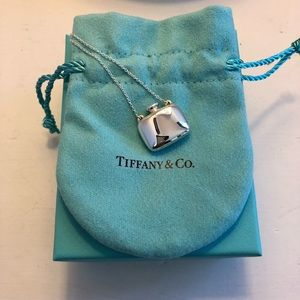 NWOT Tiffany & Co Square Bottle Pendant 18inch